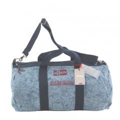 NAPAPIJRI - sportovní cestovní taška BERING MAP Fantasy Blue